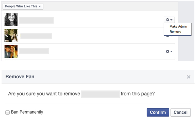 Block Someone From Your Facebook Fan Page