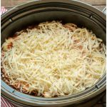 Slow Cooker Baked Spaghetti