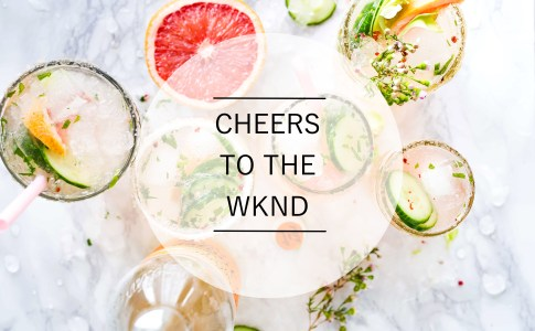 cheers to the wknd foto