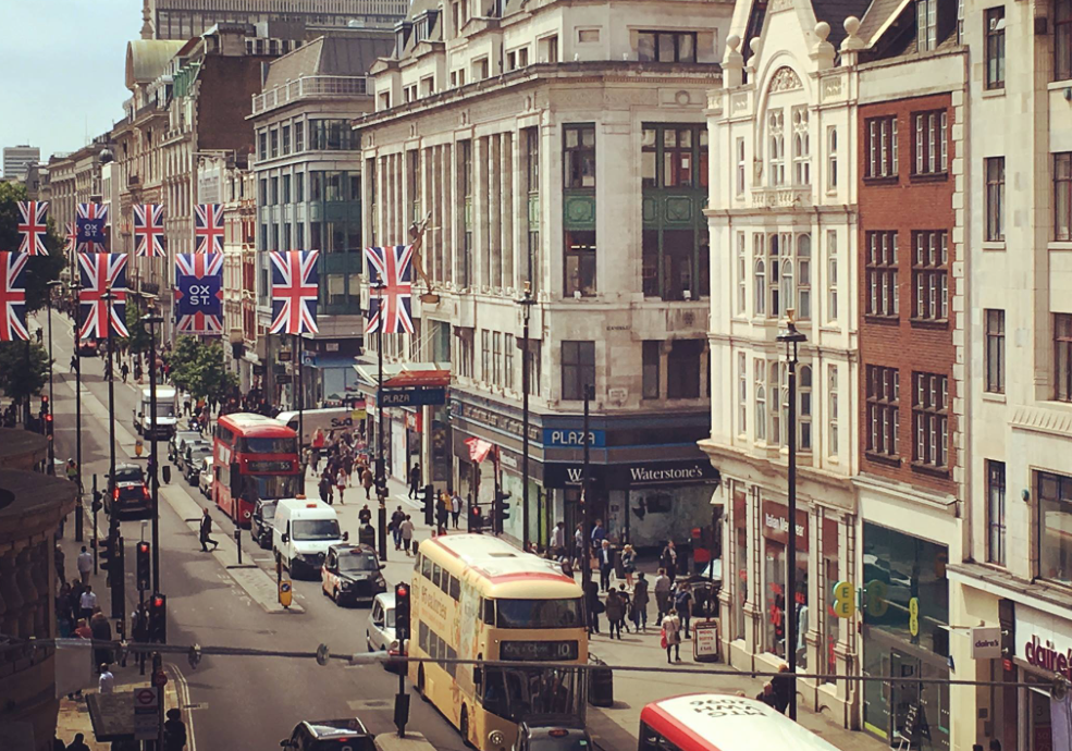 Oxford Street, credit: Facebook
