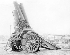 """The cannons have their bowels full of wrath, And ready mounted are they to spit forth Their iron indignation 'gainst your walls"" Shakespearean quotation for the anniversary of the French Revolution and World War One"