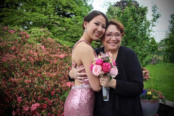 Darlene Friedman and her daughter, Eden.