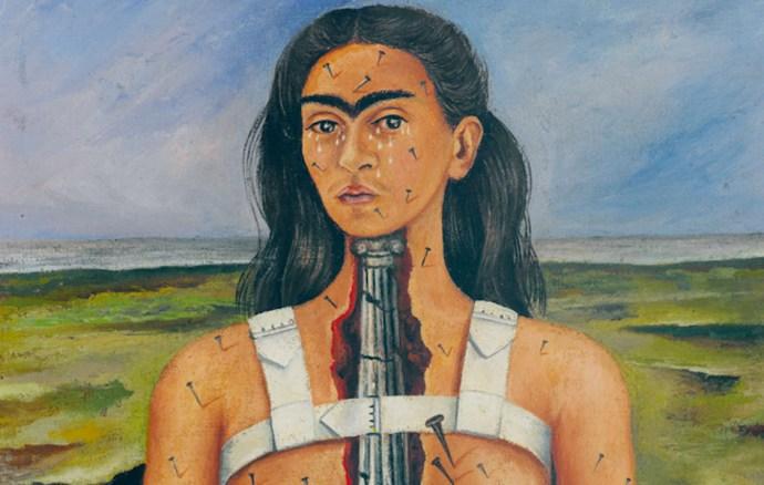 "Frida Kahlo, ""The Broken Column"", 1944"