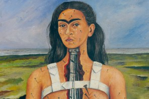 "Frida Kahlo, ""The Broken Column"", 1944"