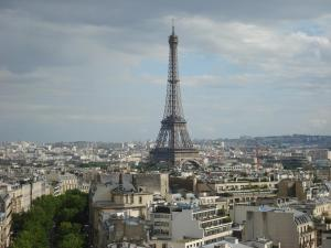 The Lovely Eiffel Tower