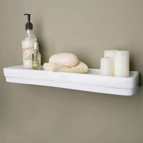 Medium Crop Of White Shelves Bathroom