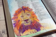 Bible Art Journaling: Because God is Creative