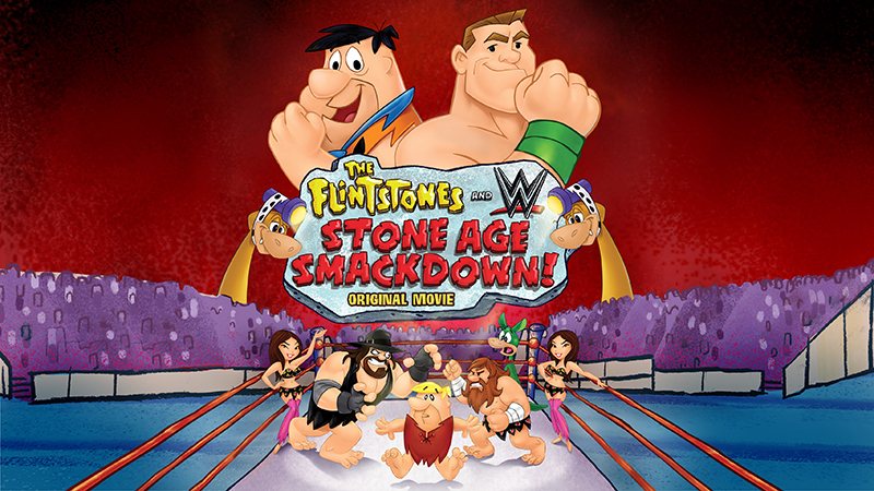 Giveaway:  Win the new Dvd set The Flintstones and WWE: Stone Age Smackdown