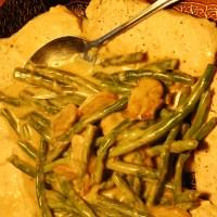 One Pot Pork And Green Beans With Mushroom Gravy Recipe