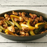 Roasted Chicken Fajitas + a Review of 125 best chicken recipes