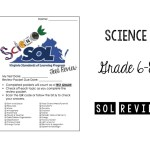 Middle School Science SOL Review Packet