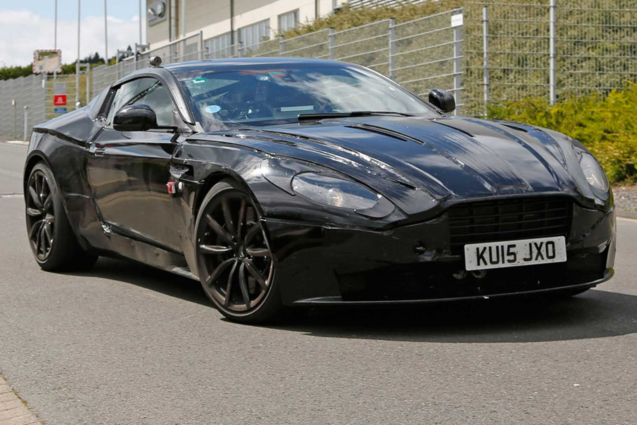 Aston martin db11 set to succeed db9 the first in an