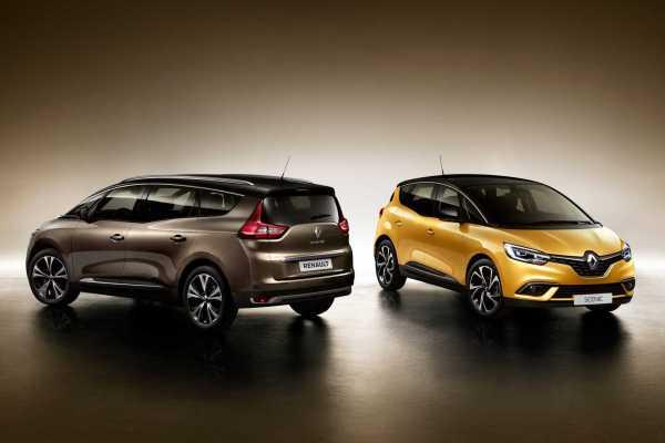 Renault Grand Scenic MPV Front