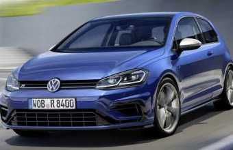 Volkswagen Golf R Facelifted