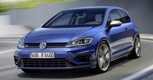 Volkswagen Golf R Facelifted