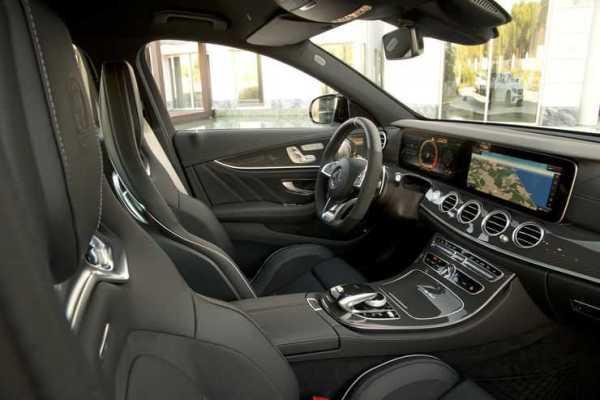 Mercedes AMG E 63 Interior