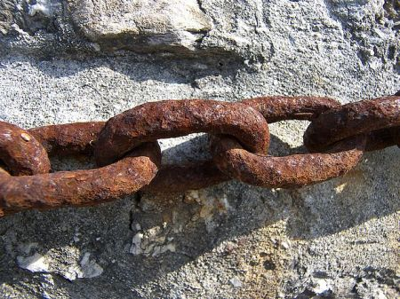 Shackle Rusted Chain - Enemy - Short Story with Moral Lesson