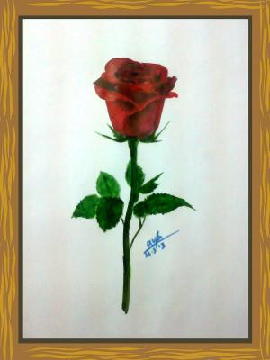 red-lose-leaf-thorn-love
