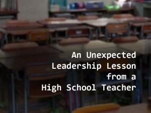 Isang Hindi Inaasahang Aral mula sa isang High School Teacher