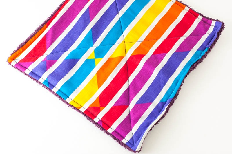Fabric Un-Paper Towels | YouShouldCraft.com