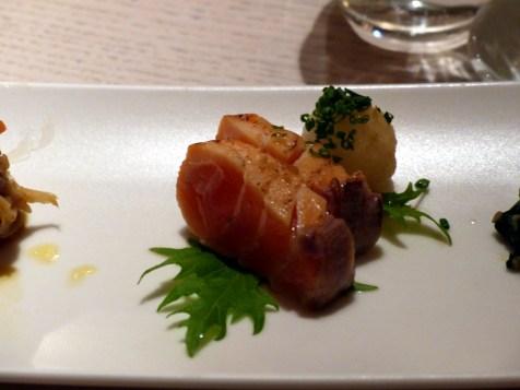 seared salmon at Sake no Hana   ytTastes   Yvanne Teo