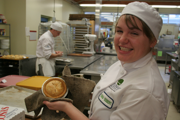VIU Pastry: Taina and a pie