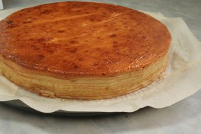 Glazed Baumkuchen Cake
