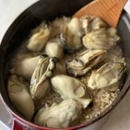 牡蠣・かき・カキ・牡蠣の炊き込みごはん