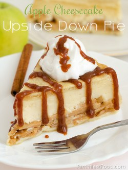 Stylish Apple Cheesecake Upside Down Pie Recipe From Yummiest Food Cookbook Apple Pie Cheesecake Dip Apple Pie Cheesecake Cupcakes