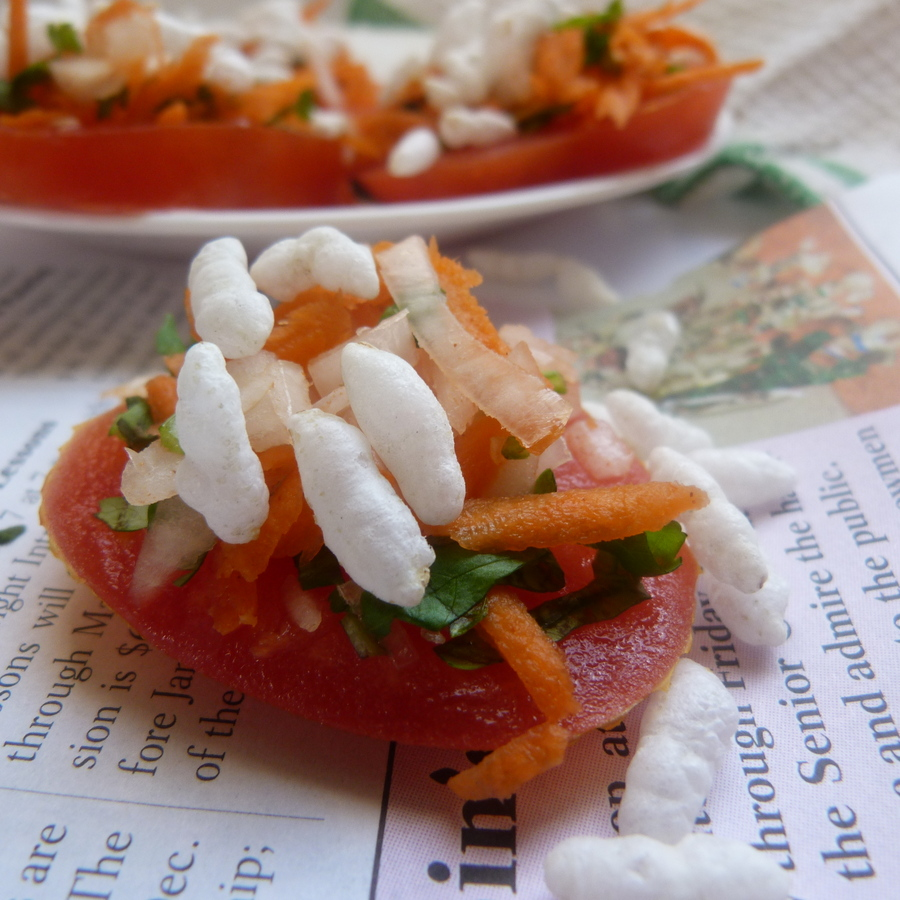 SKINNY TOMATO CHAAT – NO COOKING REQUIRED