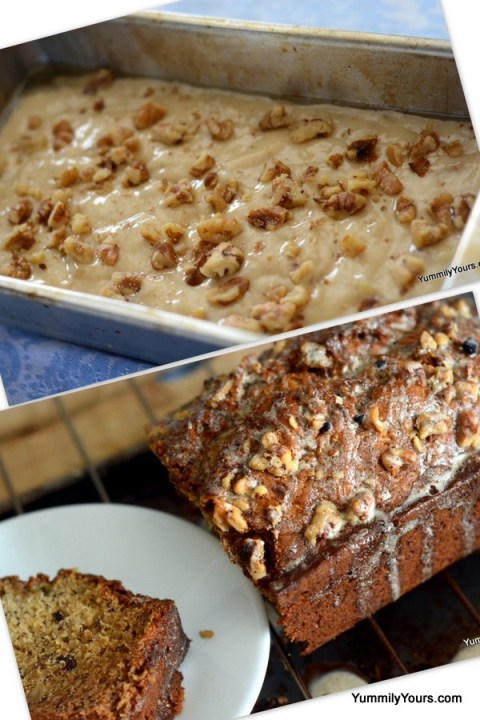 Starbucks Walnut Banana Bread