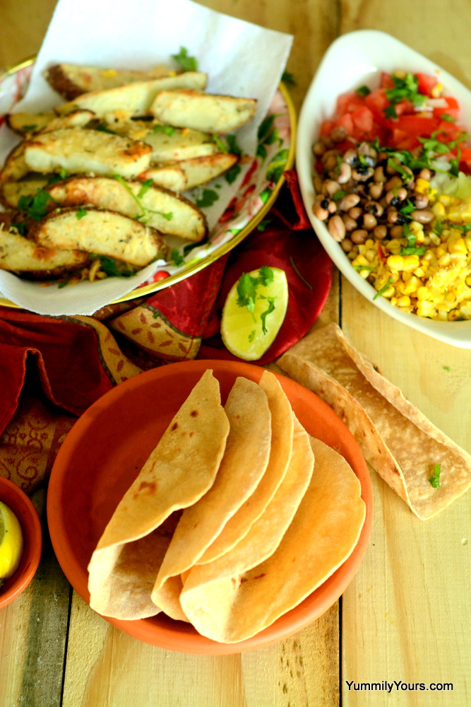 how to make tacos from tortillas