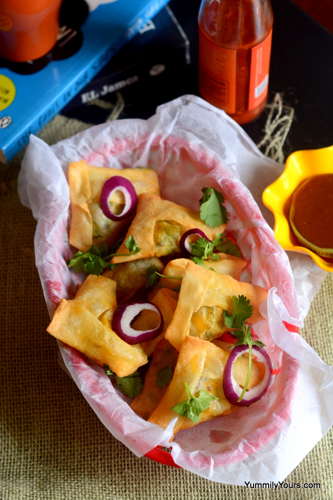 HARE CHANE KE SAMOSE & MAKING FROZEN SAMOSAS