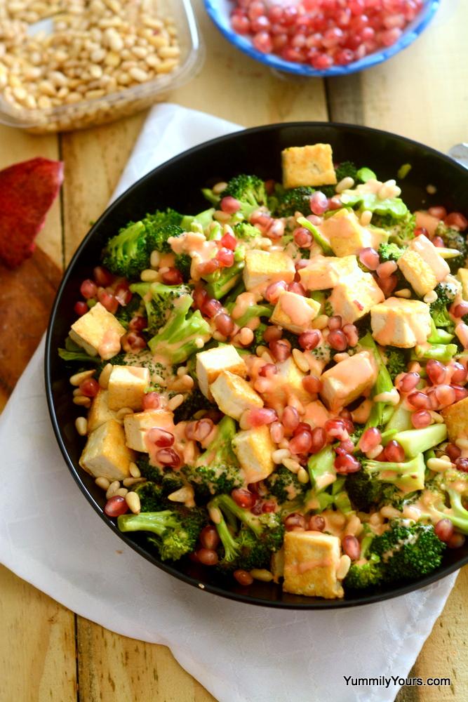 Broccoli Tofu Salad