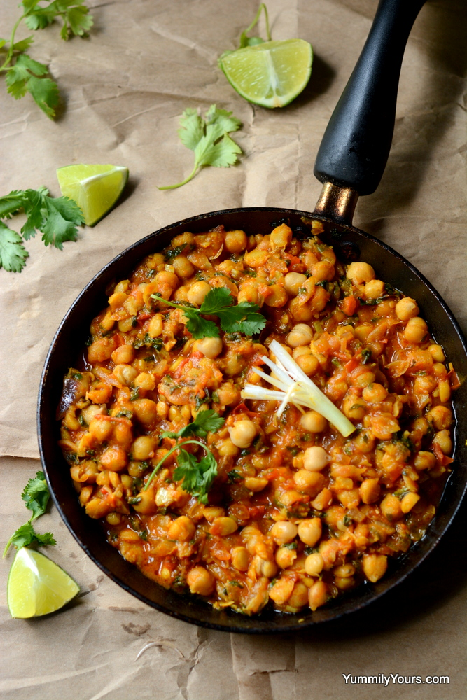METHI CHOLE | EASY CHICKPEAS CURRY
