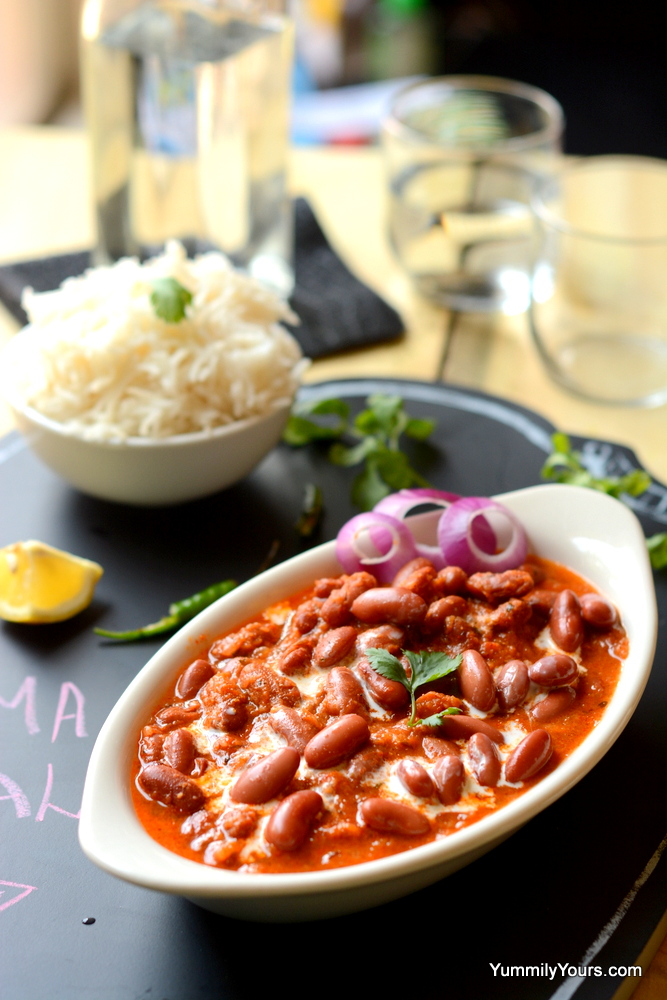 Vegan Kidney bean curry
