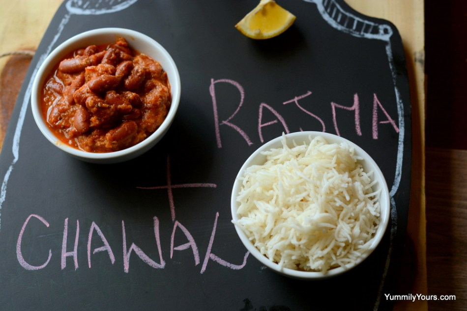 She had left over curry and rice (Rajma Chawal), what she did next will amaze you!