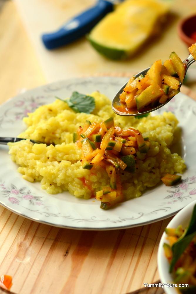 Indian Mango Pickle recipe