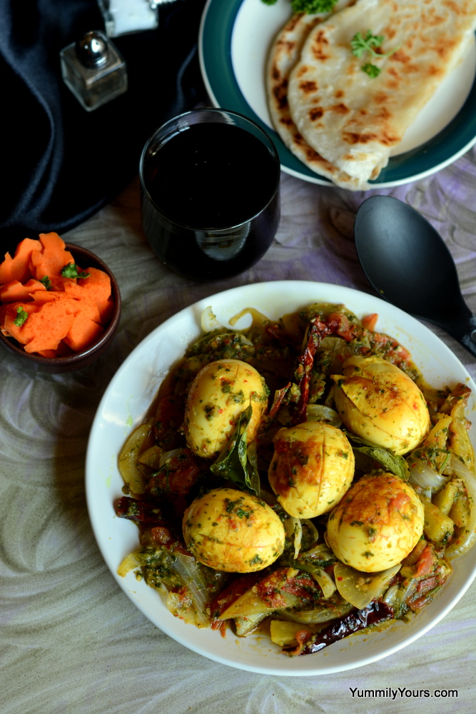 Chettinad egg curry a flavorful egg recipe yummily yours chettinad egg curry the most flavorful egg curry i have ever had forumfinder Choice Image
