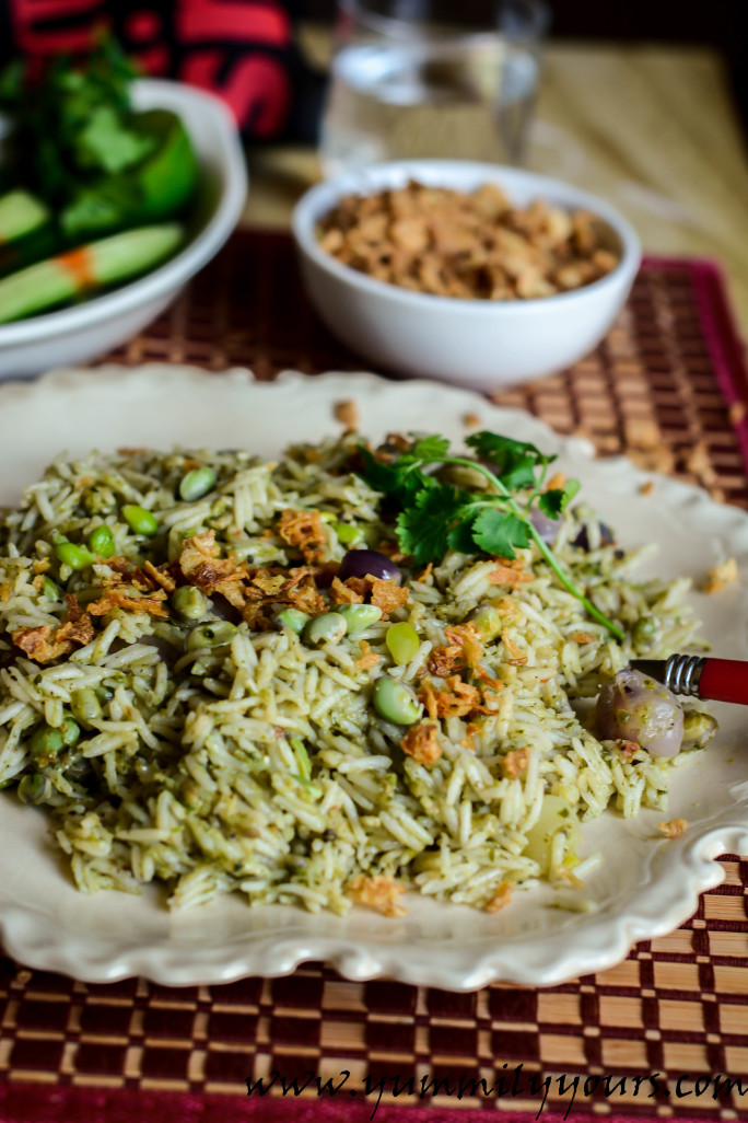 AVAREKAI PULAO | LEAN BEAN RICE