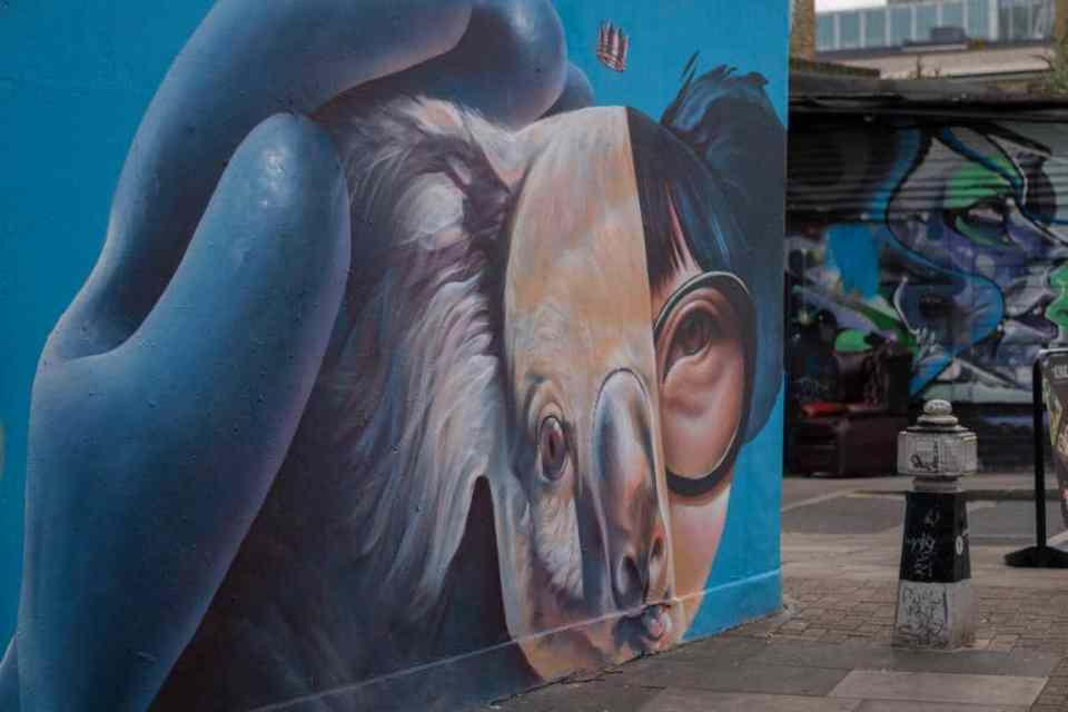 Street Art in Brick Lane