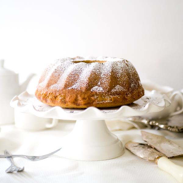 Honey Milk Tea Bundt Cake
