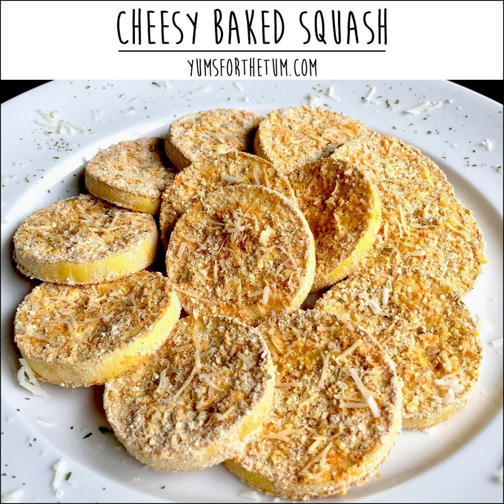 Cheesy Baked Squash