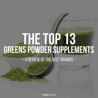 Greens Supplement Review: A Look at the Top 13 Brands | Yuri Elkaim