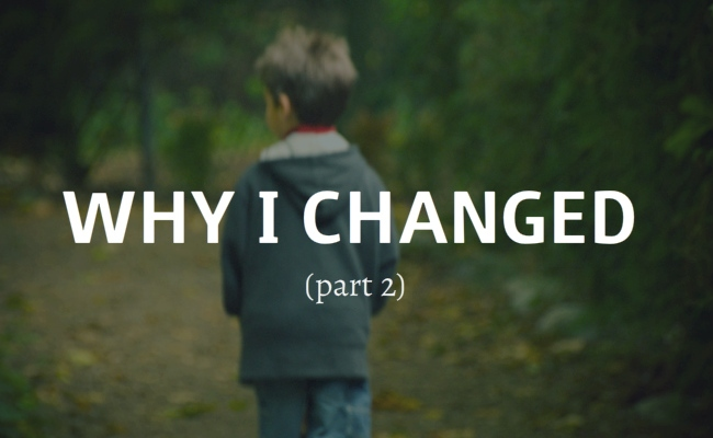why i changed part 2