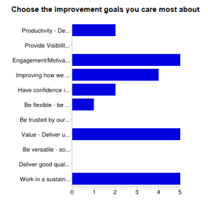 goals survey
