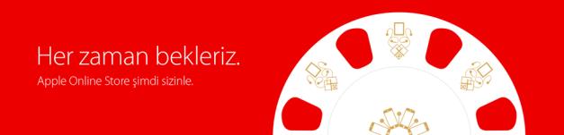 Apple Store Artık Türkiye' de