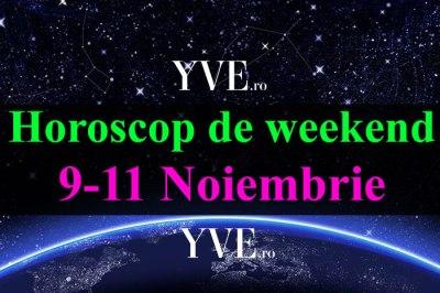 Horoscop de weekend 9-11 Noiembrie 2018: Săgetătorii se vor îndrăgosti nebunește - YVE.ro