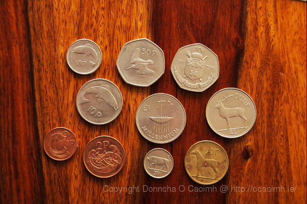 Irish coins