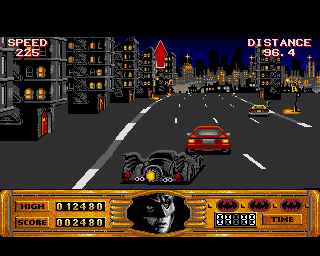 Batman The Movie, Amiga